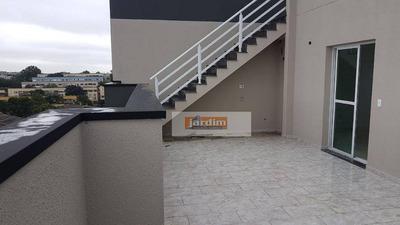 Linda Cobertura Triplex Vila Guiomar.. R$ 360 Mil... C/ Elevador.. 2 Dormitórios, 2 Wc.. Pronta Para Morar.. - Co1138