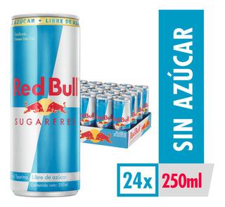 Bebida Energetica Red Bull Sugar Free 24 Latas De 250ml