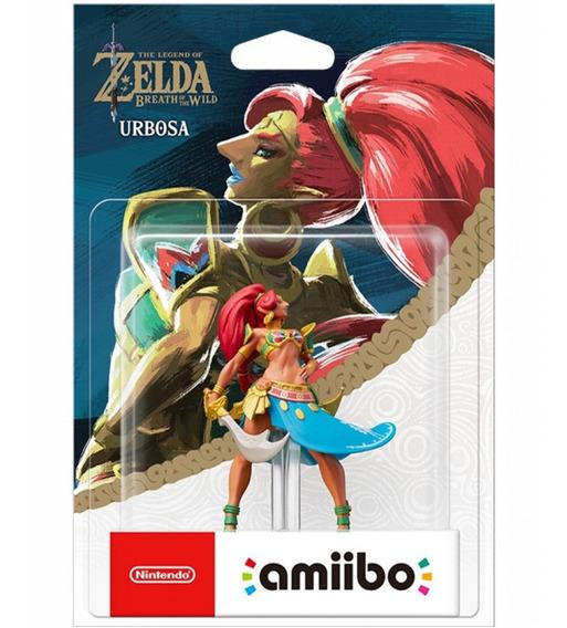 Amiibo Urbosa Lacrado Novo Wiiu 3ds Switch Zelda Breath Wild
