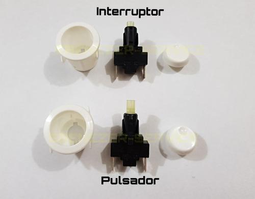 Kit Pulsador Chispa + Interruptor Luz Cocinas Orbis Legitimo