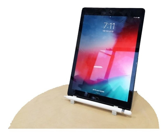 Suporte Apple iPad Com Compartimento Apple Pencil 3dga