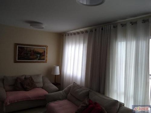 Imagem 1 de 15 de Apartamento Com 3 Dormitórios À Venda, 65 M² Por R$ 430.000,00 - Vila Augusta - Guarulhos/sp - Ai16175