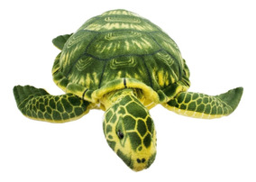 Tartaruga Marinha Verde Realista 74cm - Pelúcia