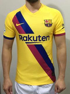 Camisa Barcelona 2019/2020 Away Messi Versão Jogador 10