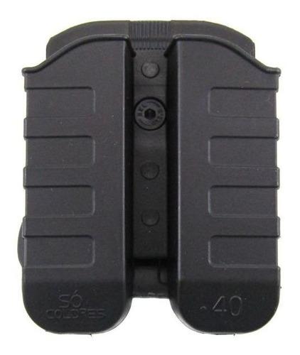 Porta Carregador Duplo P/ Pistolas Taurus .40 E 9mm - Sc011