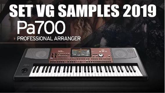 Set Vg Samples 2019 Pa600/700/900/1000/3x/4x