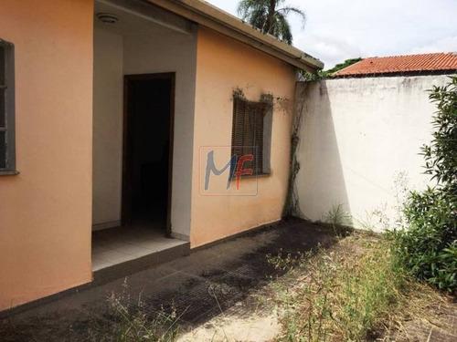 Imagem 1 de 8 de Ref: 12.277 Ótima Casa Com 400 M² Terreno E 223 M²  A.c.,  3 Dorms. (sendo 01 Suíte),  No Bairro Indianópolis, Prox. Ao Metro São Judas. - 12277