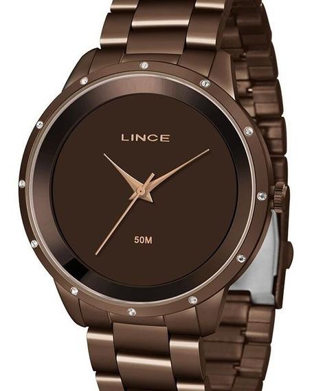 Relógio Lince Feminino Marrom - Lrb619l N1nx