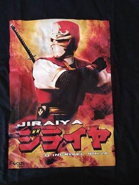 Camiseta Jiraya Tam G Original Focus Filmes Nunca Usada Dvd