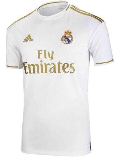Camiseta adidas Real Madrid De Local 2019-2020 Niño