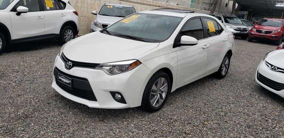 Toyota Corolla Le 2014 Blanco Full Equipo