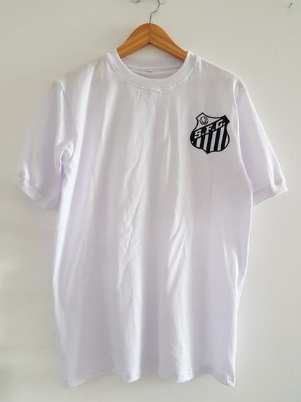 Camiseta Santos Retro Pele (algodon)