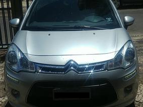 Citroën C3 Tendance 1.4 Prata 2013/14 Flex 5p Manual