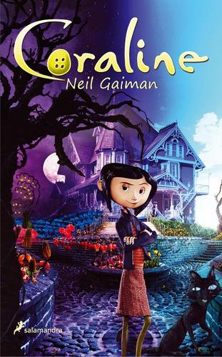 Regalo + Libro Físico Coraline Neil Gaiman Nuevo