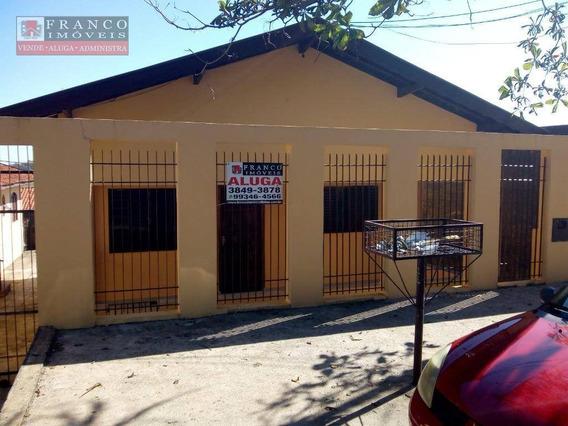 Casa Com 2 Dormitórios Para Alugar, 50 M² Por R$ 1.200,00/mês - Jardim São Luiz - Valinhos/sp - Ca0432