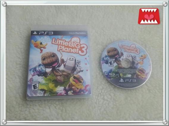 Jogo Little Big Planet 3 Playstation 3 Ps3 Mídia Física