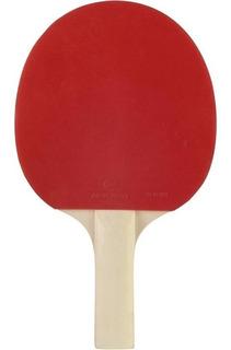Raqueta Ping Pong Adulto Fr 710 Rojo Y Negro Artengo Orig.