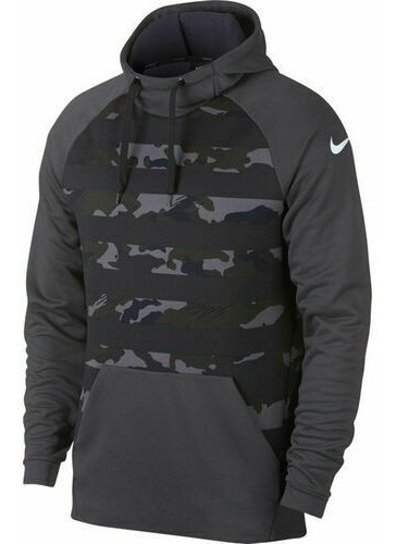 Sudadera Nike Dri-fit Camouflage Grey Training (mediana)