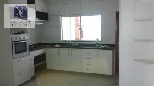 Sobrado Com 3 Dormitórios À Venda, 179 M² Por R$ 550.000,00 - Vila Francisco Matarazzo - Santo André/sp - So1433