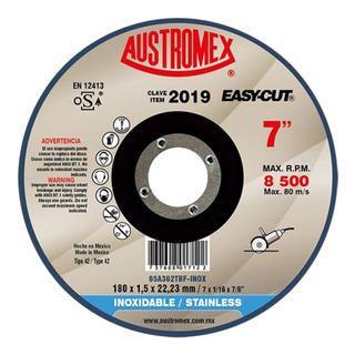Disco Acero Inox 7 Aux2019 Austromex