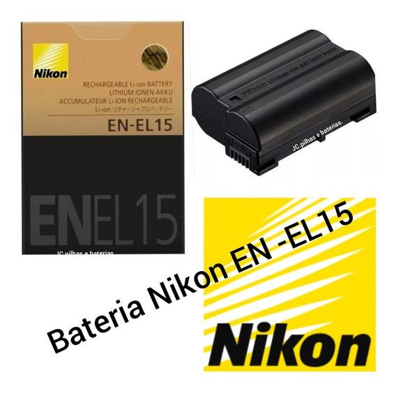 Bateria Nikon En-el15 P/ D600/..d7000../..d7100..