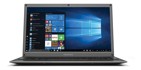 Notebook Positivo Motion C4500a 4gb 500gb 14 Hd W10 Cin