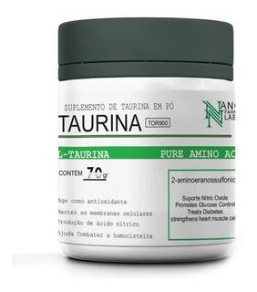 L- Taurina 70 Gramas - 100% Pura Sport Nutrition