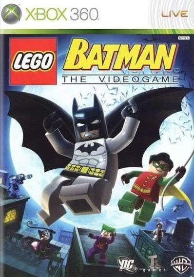Lego - Batman The Videogame - Xbox 360 Mídia Física Original