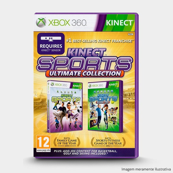 Kinect Sports Ultimate Collection Original Lacrado Xbox 360