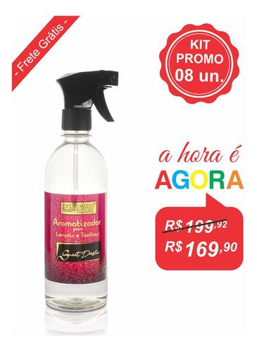 Agua Lençol E Toalha Premium 500ml - Kit 8 Unidades