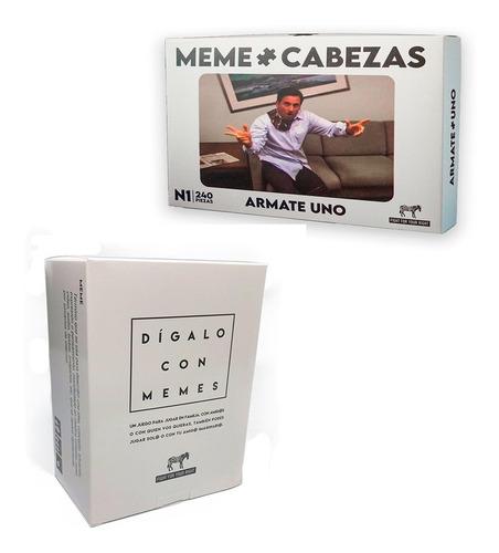 Imagen 1 de 8 de Dígalo Con Memes Memecabezas Fight Cartas Rompecabeza 240pzs