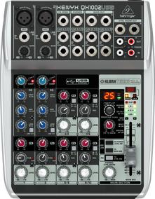 Mesa De Som Xenyx Qx1002usb 110v - Behringer + Nf + Garantia