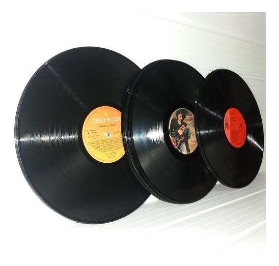 Lp Disco Vinil Para Artesanato E Decoração Kit Com 5