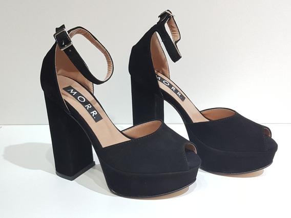 Sandalias De Fiesta - Gamuza - Zapatos Morr 9721ad