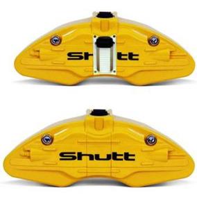 Capa Pinca Freio Amarela - Universal Aro 14 Ou Superior -