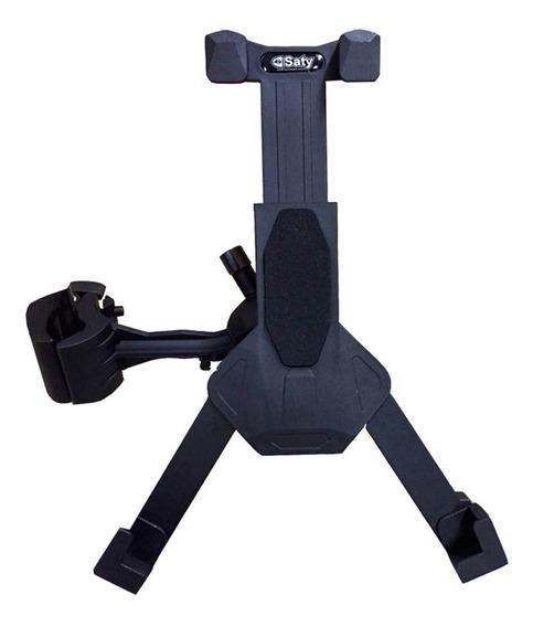 Suporte Pedestal Tablet Abs Haste Longa Ajustável Saty Sti05