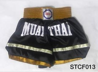 Short Calção Muay Thai Em Cetim Usme Moda Esportiva Novo!