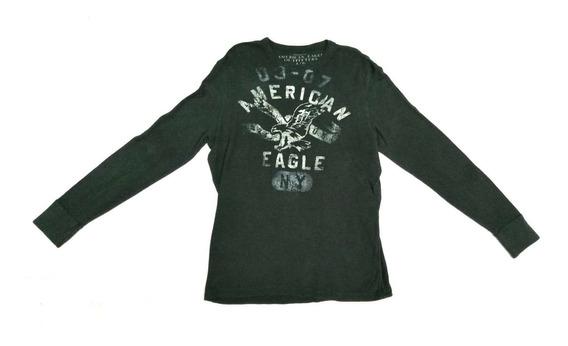 Sudadera American Eagle Vintage Fit #l Original Envió Exprés