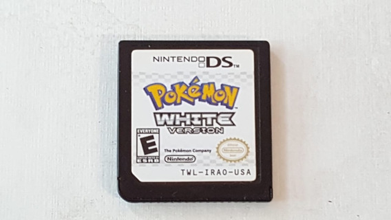Pokemon White Version - Nintendo Ds - Original Sem Capa