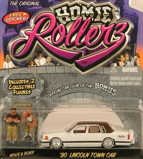 Lincoln Town Car 1990 Homie Rollerz Jada 1:64 Low Rider