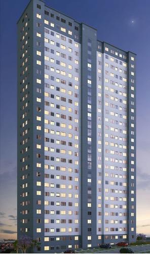 Imagem 1 de 8 de Residencial Harpia 42 E  43m2 1 E 2 Dorms,sala,cozinha,banheiro,com E Sem Vaga,com Lazer - Ap00259 - 69374321