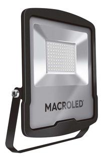 Reflector De Led 100w 240v 9000lm 6500k Ip65 Macroled