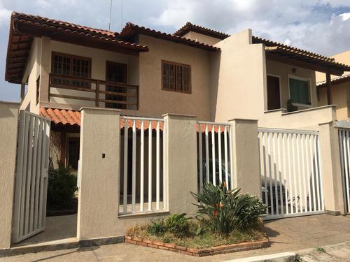Casa Em Condomínio Com 4 Quartos Para Comprar No Jardim Riacho Das Pedras Em Contagem/mg - 7690