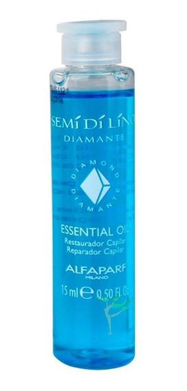 Ampolla Essential Oil S Di Lino Diamante X 15 Ml - Alfaparf