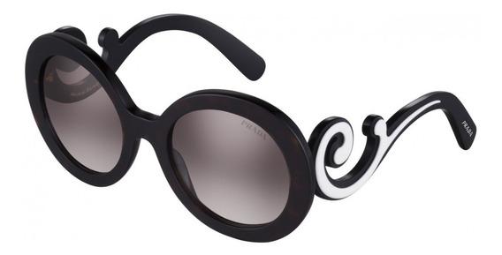 Oculos Prada Original Minimal Baroque Spr08t 50%off Oportunidade