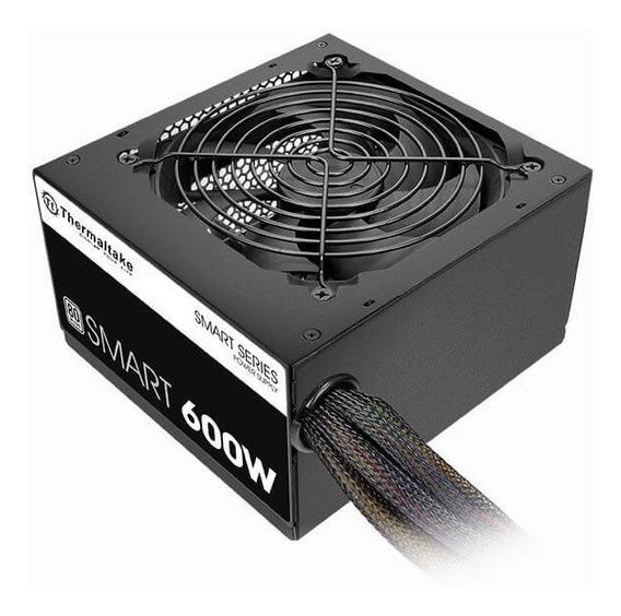 Fuente De 600w Thermaltake Smart 80 Plus White - Dixit Pc