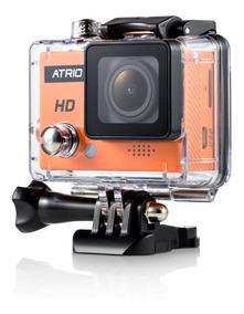 Camera Atrio Original Hd 720p + Bastao + Case Prova Dagua