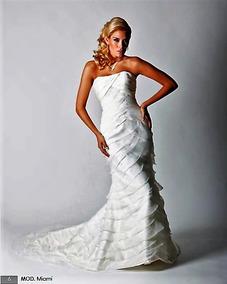Vestido De Novia Mediano Ivory Hermoso!