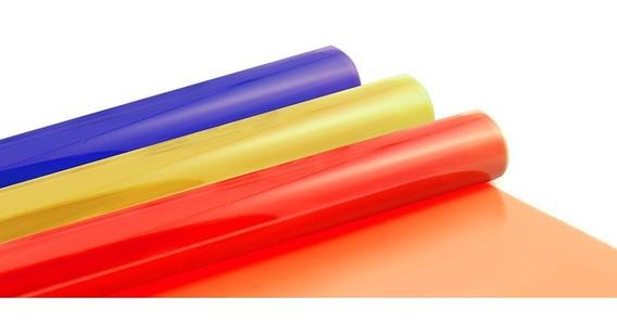 Gelatinas Filtro Iluminacion De Colores X Plancha (50x60cm)