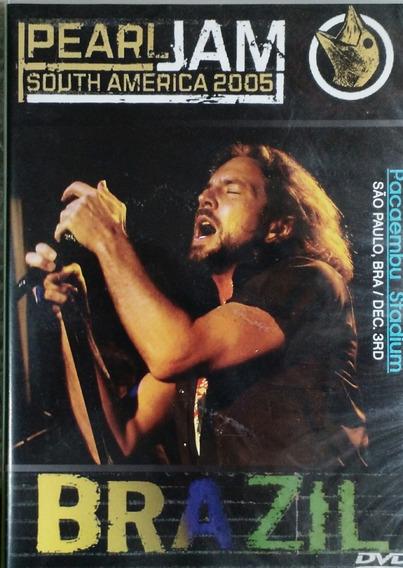 Dvd Pearl Jam Live In São Paulo South América 2005 - Novo!